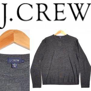 J CREW I Men's gray merino wool sweater